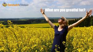 第4回 What are you grateful for?