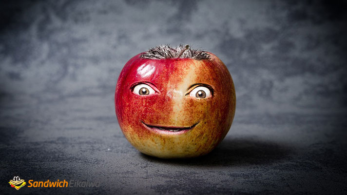 apple of my eye 意味