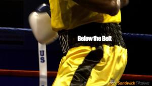 Below the belt 意味 - ボクシングのルールが由来のイディオム