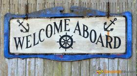 Welcome aboard 新入社員に使えるフレーズ