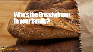 Breadwinner の意味 と似た意味のイディオム
