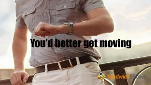 (You 'd) better get moving とGet a move on  ネイティブの日常英会話フレーズ